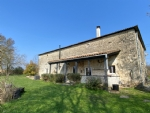 Barn Conversion with 3 Bedrooms, Gardens With Views - near Tusson