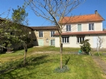 Stone House 3 Bedrooms, Outbuildings and Enclosed Garden - Between Civray and Ruffec