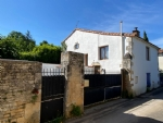 Village Stone House with 2 Bedrooms - Near Aunac sur Charente