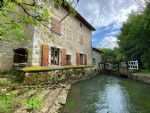 Renovated Mill In An Idyllic Waterside Position With 3 Bedrooms And Plenty Of Character
