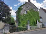 14th century village house with garden for sale in the Brenne 36