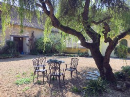 Idyllic Courtyard House, Outbuildings, Stables and Land