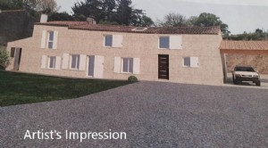 Fontenay-le-Comte: Restored Detached Home – Just like NEW.