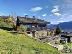 A charismatic farmhouse with elevated mountain views, located in Verchaix en Haut
