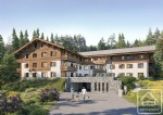 A 65.75m2, 2 bedroom +'cabine' apartment with balcony, cave and ski locker.