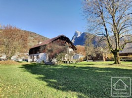 An immense traditional farmhouse, set on a sizeable plot of land