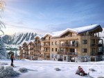 New build 3 bedroom + bunk room apartments, with garage and ski locker opposite the slopes