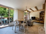 A stylish, one bedroom duplex apartment, on the piste.