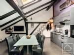 2 bedroom apartment in a renovated farmhouse.