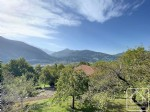 630m2 plot, in great location, with valley and Mont Joly views