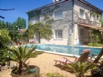 Beautiful renovated home on 1840 m² with pool, stone outbuilding and independent gite.