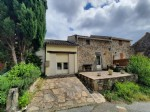 Two pretty stone villages houses with terraces, annexes, shared garden with pool and views !
