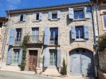 Charming stone property with B&B offering 360 m² of living space, courtyard, pool and garage.