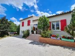 Beautiful villa with 217 m² of living space on a 12200 m² plot with pool and independent gite.