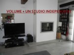 Family house with studio