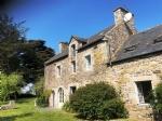 Old stone farmhouse near the coast