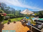 Detached 3-bed bungalow with large garden, pool & garage