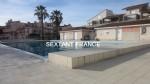 T2. 33 m². saint cyprien beach. swimming pool.
