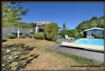 Near duras, 146 m2 bioclimatic wooden house with swimming pool on 2745 m2 of land