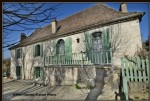 Nearby villereal, very beautiful village house of 230 m2 with barn and swimming pool