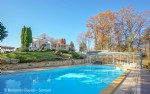 Beautiful contemporary house, stone guest house and heated pool on 2.2 ha of land with views