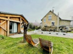 House with swimming pool downtown brive