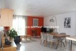 95 sqm appartment with a view over the harbor