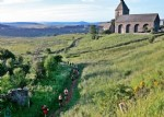 Very pretty stone house in the heart of a picturesque village offers 5 rooms, balcony. (large cella