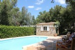 Charming villa near provencal village in the heart of var