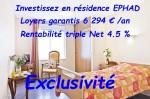 T1 in ehpad residence, triple net profitability 4.5%