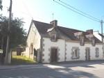 Large stone village house