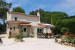 Wm 1046327, Three Houses in Castellaras Above Valbonne