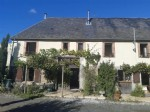 Normandy - House with attached gite, enclosed rear garden and above ground swimming pool.