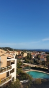 Lovely apartment facing the sea with additional roof top accommodation with stunning views.