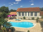 Gite Complex for sale 5 bedrooms ,1754m2 land South facing ,Pool