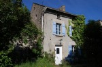 Stone house to cosmetically renovate near bersac sur rivalier (87)