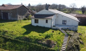 Village property habitable but needing refreshing with beautiful countryside views