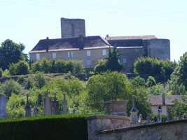 Historic monument château richard de lionheart  chalus