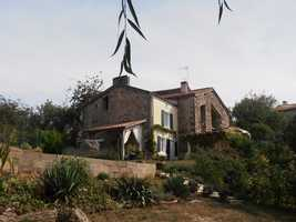 Architect designed barn conversion with gite - fabulous long view