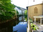 Riverside appartment in beautiful lively lakeside village