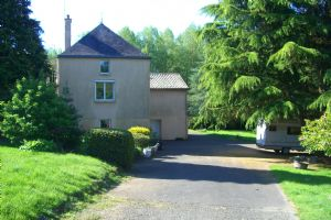 House with lake, Vendee border.