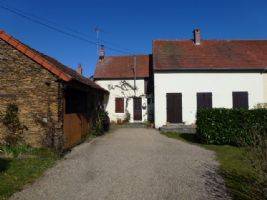 A 2 bedroom country cottage & garden situated in a small hamlet near Préveranges
